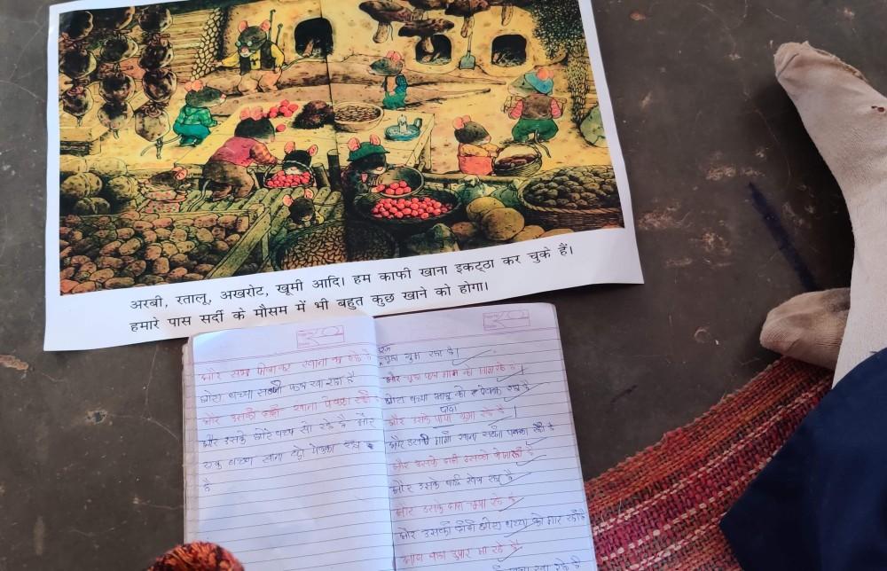 meri diary s kaksha m 14 chuhe ghar banane chale