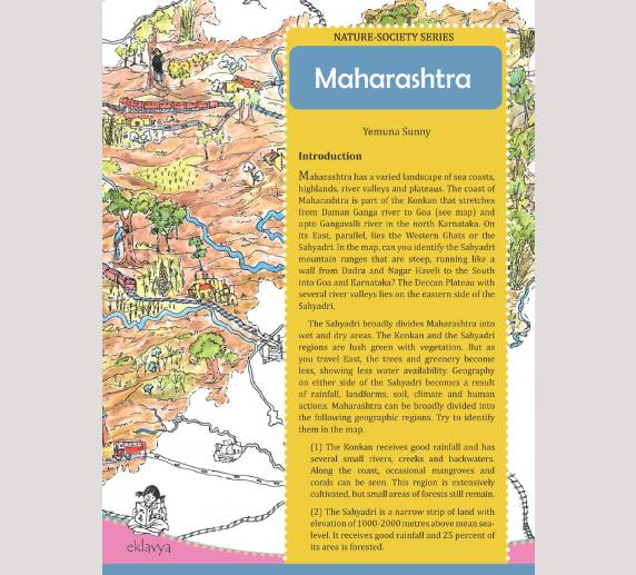 Nature Society Series (Maharashtra Map)