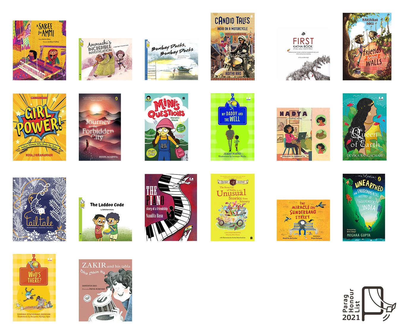 Parag Honour List English Books