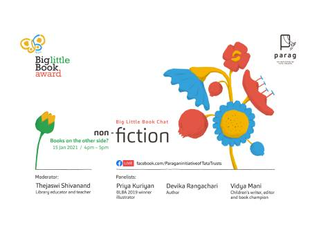 Big Little Book Chat - Non-fiction in Indian Children's Literature