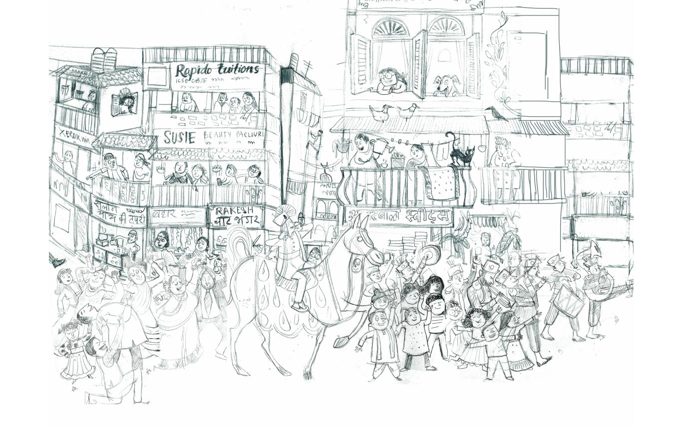 Sketch - Agla Kaun
