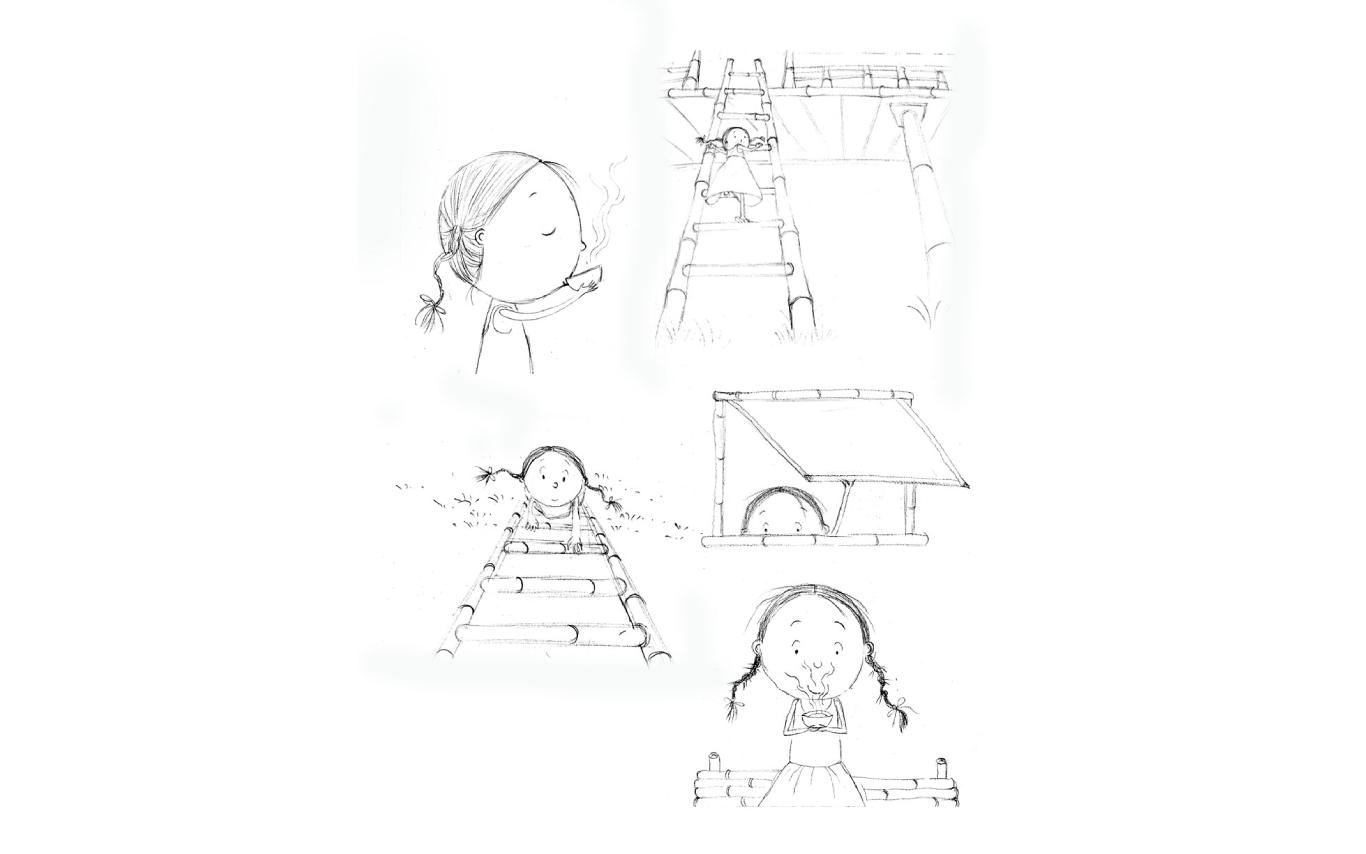 Sketch – Bulbuli's Bamboo